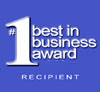 #1 Best in Business Award